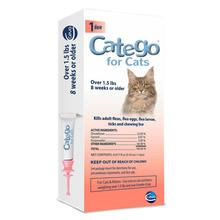 Catego Topical Flea and Tick Treatment for Cats