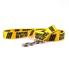 Caution Dog Leash by Yellow Dog - Do Not Pet