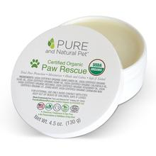 Pure and Natural Pet Certified Organic Paw Rescue for Dogs