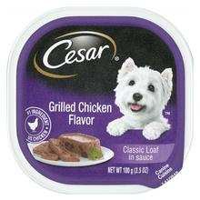 Cesar Classic Loaf in Sauce Wet Dog Food - Grilled Chicken