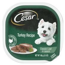 Cesar Classic Loaf in Sauce Wet Dog Food - Turkey