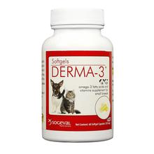 Sogeval Derma-3 Softgels Fatty Acid Supplement For Dogs and Cats