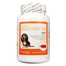 Sogeval Derma-3 Twist Caps Fatty Acid Supplement for Dogs and Cats