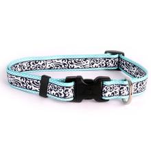 Chantilly Dog Collar by Yellow Dog - Teal