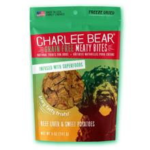 Charlee Bear Freeze Dried Meaty Bites Dog Treat - Beef Liver & Sweet Potatoes