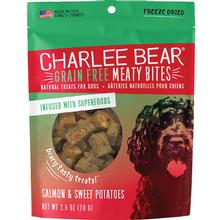 Charlee Bear Freeze-Dried Meaty Bites Dog Treats - Salmon & Sweet Potatoes