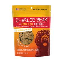 Charlee Bear Grain Free Bear Crunch Dog Treats - Chicken, Pumpkin & Apple