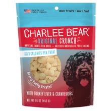 Charlee Bear Original Crunch Dog Treats - Turkey Liver & Cranberry