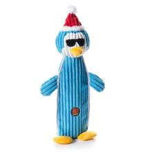 Charming Christmas Bottle Bros Durable Dog Toy - Penguin