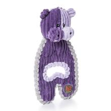 Charming Cuddle Hugs Dog Toy - Hippo