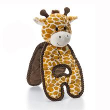 Charming Cuddle Tugs Dog Toy - Gentle Giraffe
