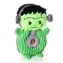 Charming Halloween Puzzlers Durable Dog Toy - Frankenstein