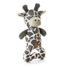 Charming Pattern Patches Durable Dog Toy - Grey Giraffe