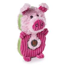 Charming Puzzlers Durable Dog Toy - Pig