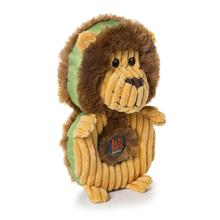 Charming Puzzlers Durable Dog Toy - Lion