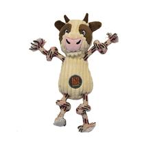 Charming Ranch Roperz Dog Toy - Cow