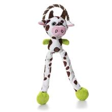 Charming Thunda Blasters Dog Toy - Leggy Cow