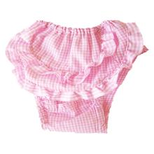 Checkered Dog Sanitary Pants by Puppe Love - Pink