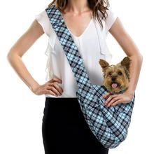 Scotty Tiffi Plaid Dog Cuddle Carrier by Susan Lanci