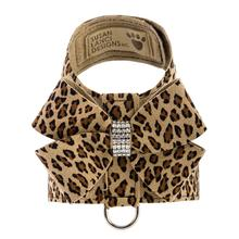 Cheetah Nouveau Bow Tinkie Dog Harness by Susan Lanci