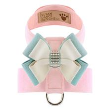 Hope Bow Tinkie Dog Harness by Susan Lanci - Puppy Pink