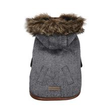 Chelsea Dog Coat by foufou Dog - Denim Blue