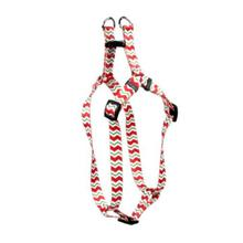 Chevron Step-In Dog Harness by Yellow Dog - Peppermint
