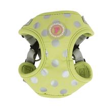 Chic Step-In Adjustable Dog Harness by Pinkaholic - Lime