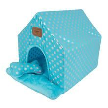 Chic Tent Dog House by Pinkaholic - Blue