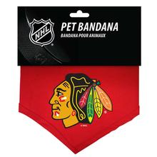 Chicago Blackhawks Cotton Dog Bandana