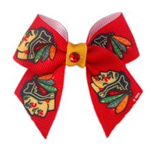 Chicago Blackhawks Dog Hair Bow