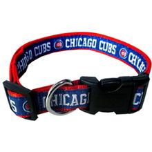 Chicago Cubs Officially Licensed Dog Collar - RIBBON