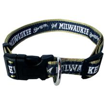 Milwaukee Brewers Officially Licensed Ribbon Dog Collar