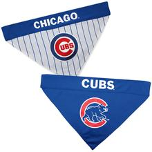 Chicago Cubs Reversible Dog Bandana Collar Slider