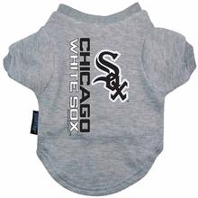 Chicago White Sox Dog T-Shirt - Gray