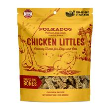 Chicken Littles Bone Shaped Dog Treat by Polka Dog