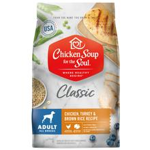 Chicken Soup for the Soul Classic Adult Dry Dog Food - Chicken, Turkey & Brown Rice