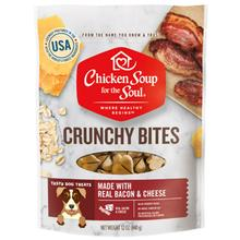 Chicken Soup for The Soul Crunchy Bites Dog Treats - Bacon and Cheese