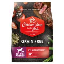 Chicken Soup for the Soul Grain Free All Life Stages Dog Food - Beef & Legumes Recipe