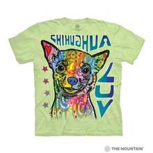 Chihuahua Luv Human T-Shirt by The Mountain