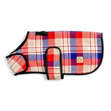 Chilly Dog Red Field Blanket Dog Coat