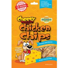 Chip's Naturals Cheesy Doggie Chicken Chips Dog Treats