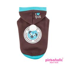 Chiquito Dog Hoodie by Pinkaholic - Brown