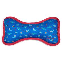 Worthy Dog Chomp Bone Dog Toy - Blue