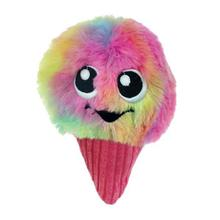 Chomper Food Junkeez Plush Dog Toy - Snow Cone