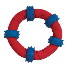 Chomper Gladiator Tuff Nylon Toss-and-Tug Ring Dog Toy