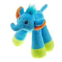 Chomper Mini Long Legs Safari Pals Dog Toy - Elephant