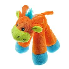 Chomper Mini Long Legs Safari Pals Dog Toy - Giraffe