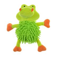 Chomper Mini Moppy Safari Pals Dog Toy - Gator