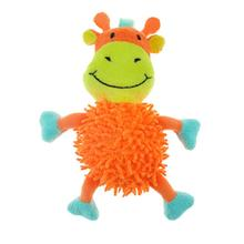 Chomper Mini Moppy Safari Pals Dog Toy - Giraffe